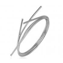 Bracelete Essence -Banho Ródio Branco